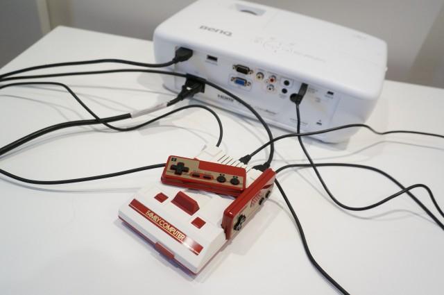 HT1070の電源供給でニンテンドークラシックミニをプレイ