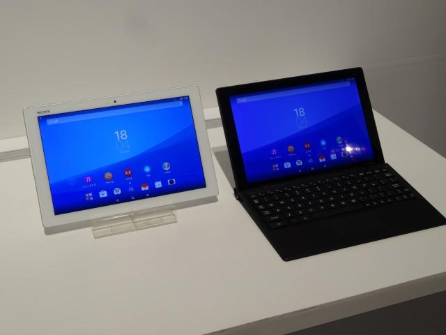 展示会で一番気になったXperia Z4 Tablet